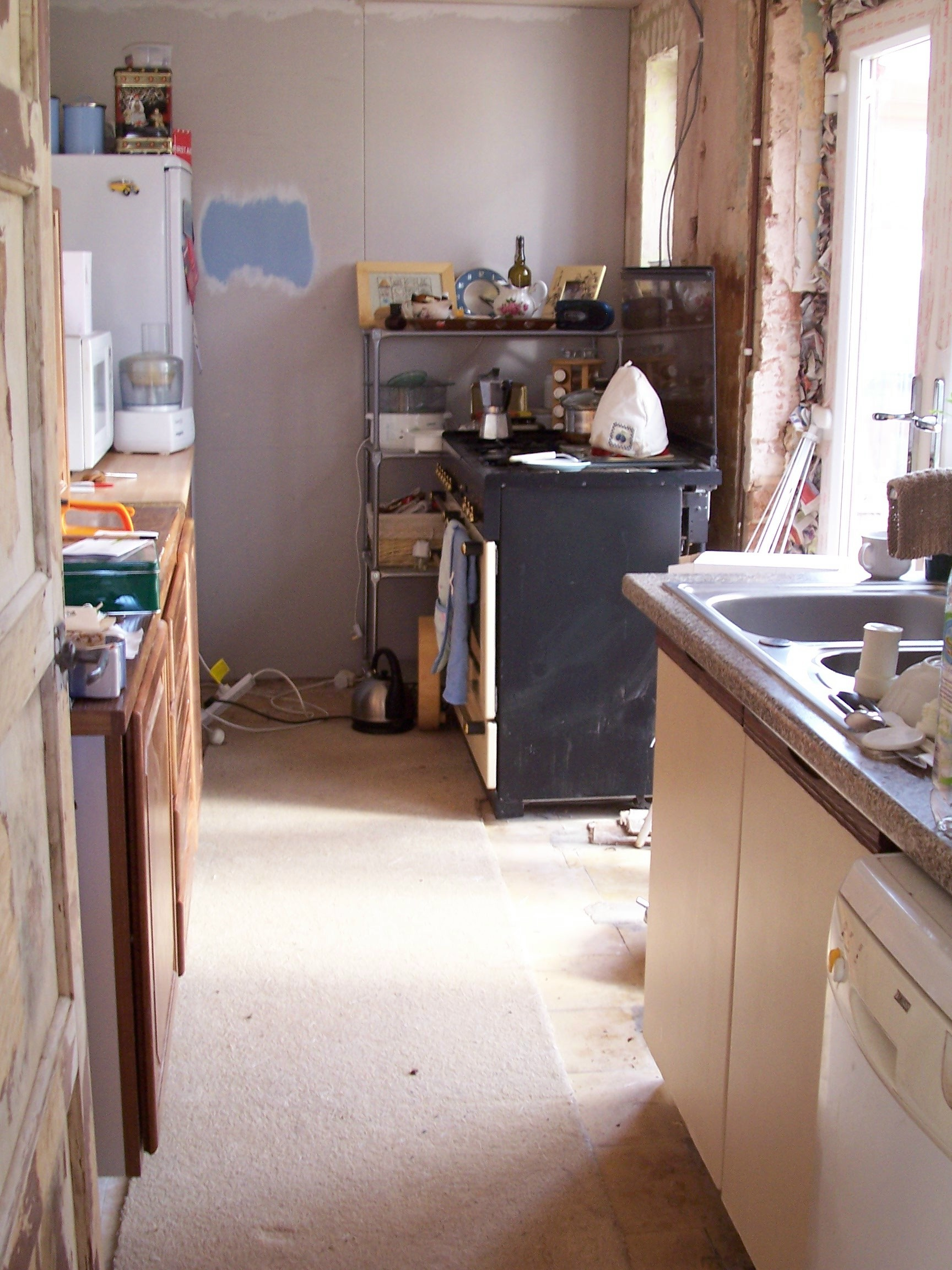 The countdown to a vintage/reclaimed kitchen refit - Steel Kitten