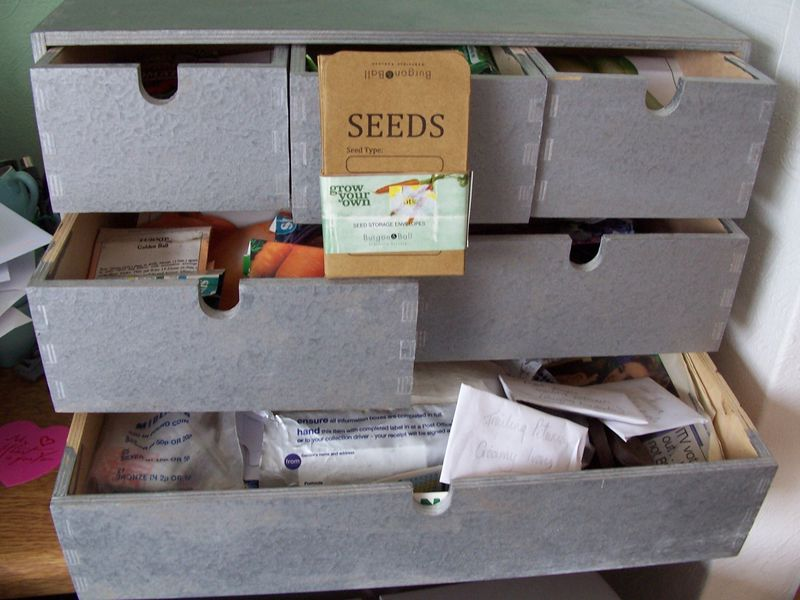 Seeds envelopes