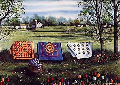 Diane Phalen Amish Spring