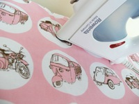 Bubblecar ironing board cover