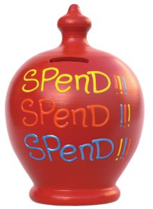 Spend spend spend terramundi pot