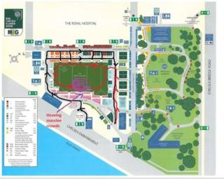 Chelsea Map 2014