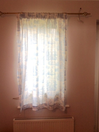 Tatty curtains