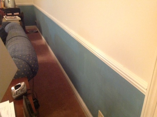Living room wall 2